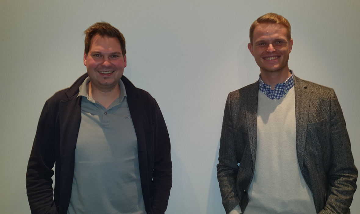 Patrick Pauleikhoff und Dr. Alexander Martin